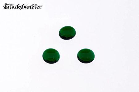 Spielsteine Glas 13-15mm dunkelgrün
