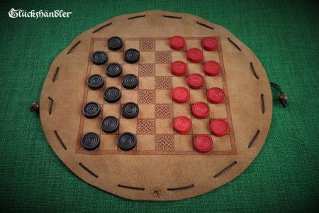 Baschni, Brettspiel aus Leder - Keltisch
