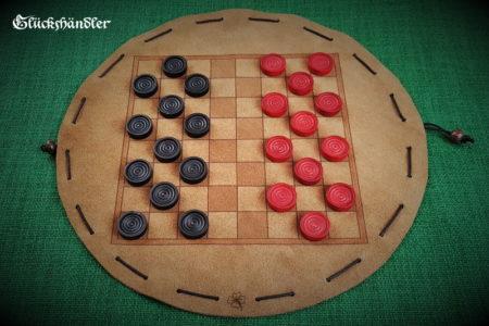 Baschni, Brettspiel aus Leder - Klassisch