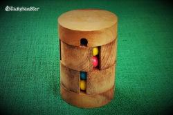 Kugelturm, Kugelpuzzle, Drehpuzzle aus Holz