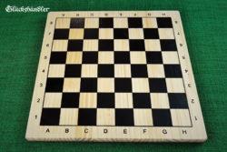 Schachbrett, Holz 29,7 x 29,7 cm h 1,8cm