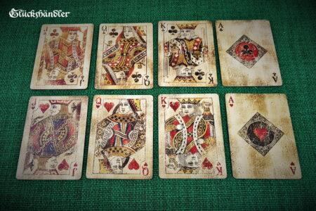 Bicycle Vintage Spielkarten Herz & Kreuz