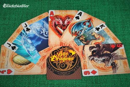 Spielkarten-Bicycle-Age of Dragons von Anne Stokes