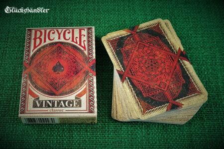 Spielkarten-Bicycle Vintage-Verpackung