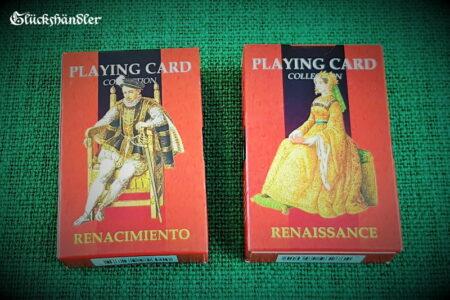 Spielkarten Renaissance Verpackung