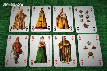 Spielkarten Renaissance. Kreuz & Karo