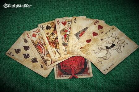 Vintage Spielkarten von Bicycle 8 Karten