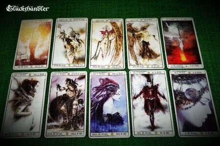 Tarot Malefic -Kartenauswahl (2)
