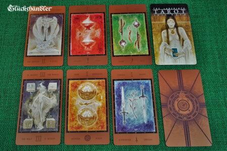 The Labyrinth Tarot von Luis Royo - Karten